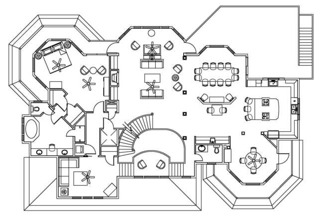 Floor plans for Web design blueprints
